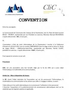 Convention CliC/4C