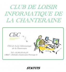 Statuts de CliC